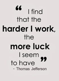 Hard work quote – Thomas Jefferson – I find that the harder I work, the more luck I seem to have. Hard work quote – Thomas Jefferson – I find that the harder I work, the more luck I seem to have. Motivational Quotes For Students, Great Quotes, Quotes To Live By, Student Quotes, Student Inspirational Quotes, School Quotes, Super Quotes, Motivacional Quotes, Funny Quotes