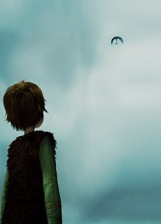 Gift Of the Night Fury ~ Hiccup and Toothless. *Heart breaks*