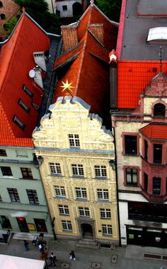 "tenement house ""under the star"" - Nicolaus Copernicus place of birth (museum nowadays) Toruń : Poland"