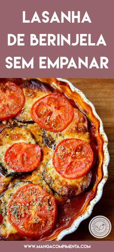 Empanadas, Eggplant Recipes, Frittata, Lasagna, Sausage, Food And Drink, Health Fitness, Low Carb, Pizza