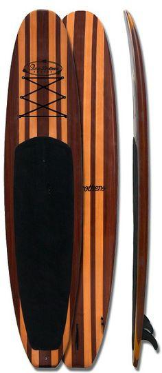 Wood Paddleboard or wood sups