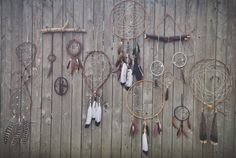 Found & Feathers handmade dreamcatchers