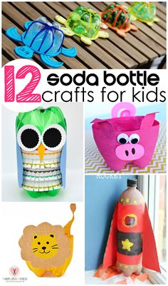 187 best earth day recycling activities for kids images on soda bottle craft ideas for kids to make find a lion rocket owl thecheapjerseys Gallery
