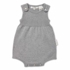 pure baby organic baby clothes. Love this style of romper and colour.