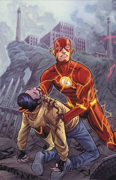 THE FLASH #19 by Francis Manapul