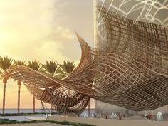 D1 Canopy Design in Dubai creek, UAE by Innovarchi, 2012