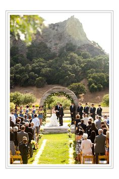 This is my venue! The Holland Ranch outside of SLO.