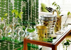 Swedish Style Interior Design by Svenskt Tenn | Josef Frank