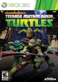 Teenage Mutant Ninja Turtles - Nintendo Wii by Activision Inc. Hand-to-hand fighting -- Computer games Nintendo 3ds, Kirby Nintendo, Ninja Turtle Videos, Ninja Turtle Games, Tmnt Games, Wii Games, Xbox 360 Video Games, Latest Video Games, Teenage Mutant Ninja Turtles