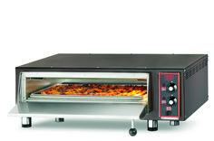 4-PIZZA-CB Forno pizza elettrico con refrattario in pietra lavica. www.cb-italy.com