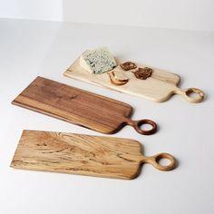 Vestige HOME Loop Handle Wood Serving Board