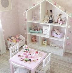 Casas De Bonecas Super Charmosas. Dollhouse BookcaseIkea DollhouseKids  Bedroom Ideas For Girls ToddlerSimple ...