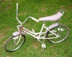 desert rose Huffy...my exact bike as a child