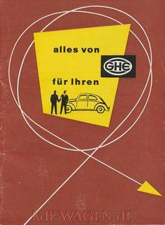 VW - 1964 - alles von GHE für Ihren VW - [9759]-1