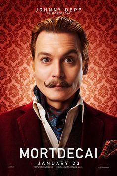 """Pôsteres do filme """"Mortdecai"""" com Johnny Depp http://cinemabh.com/imagens/posteres-filme-mortdecai-com-johnny-depp"""