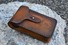 Leather Carving, Leather Art, Leather Gifts, Custom Leather, Leather Keychain, Leather Pouch, Leather Cigarette Case, Diy Leather Projects, Leather Factory