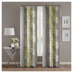 Ally 100 Cotton Printed Curtain Panel