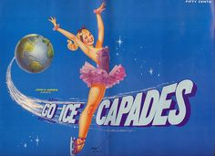 1962 Ice Capades ART by George Brown Petty lV by Robert Lz, via Flickr