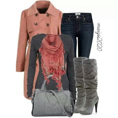 Fashionista Trends - Fall outfit, Sweet Pink