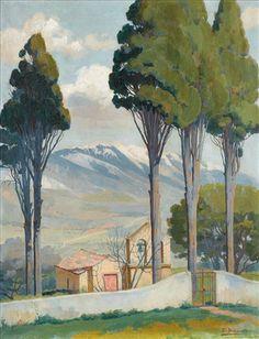 Ιθακήσιος Βασίλειος – Vassilios Ithakissios [1889-1977] | paletaart – Χρώμα & Φώς