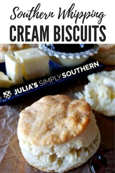 Next Post Previous Post Southern Heavy Whipping Cream Biscuits recipe, also called cream biscuits. This fluffy and slightly sweet tender biscuits are a delicious bread option for brunches and holiday dinners. Next Post Previous Post Recipes Using Whipping Cream, Heavy Cream Recipes, Heavy Whipping Cream, Biscuit Recipe With Heavy Cream, Cream Bread Recipe, Whipped Cream Desserts, Homemade Whipped Cream, Lemon Cream Cake, Baking Recipes