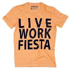 Fiesta Tee Men's, $30, now featured on Fab.