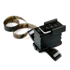 The Smartphone Film Scanner is a light, portable device that quickly and easily converts 35mm film into digital images. Simply turn on the scanner's backlight, insert your film, and snap a photo using your smartphone. Then use the free LomoScanner app or your phone's camera to edit, email, post, and print your pics to your heart's content.