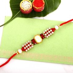 Red Stone Designer Rakhi Raksha Bandhan Gifts, National Festival, Rakhi Online, Unique Gifts, Best Gifts, Buy Gifts Online, Different Styles, Anniversary Gifts, Personalized Gifts