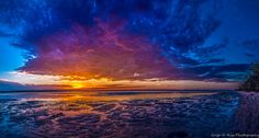 Christmas Eve Sunset 2014 by Shane Reynolds on 500px