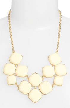 Stephan & Co. Stone Statement Necklace available at #Nordstrom