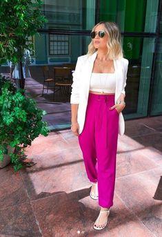 Trend Fashion, Fashion 2020, Fashion Pants, Urban Fashion, Girl Fashion, Fashion Looks, Fashion Outfits, Looks Chic, Looks Style