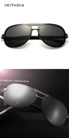 0a2740d2fb Aluminum Magnesium Men Sunglasses Polarized Lens Driver Mirror Glasses Male  Fishing Outdoor Eyewears Accessories 6500