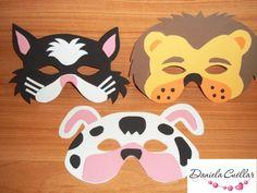 Buscando ideas para una fiesta de niños, encontré estas máscaras de animales y me parecieron muy fáciles de hacer y también económicas. Son...