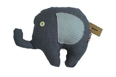 Stoffen olifant grijs van Gernaai op DaWanda.com