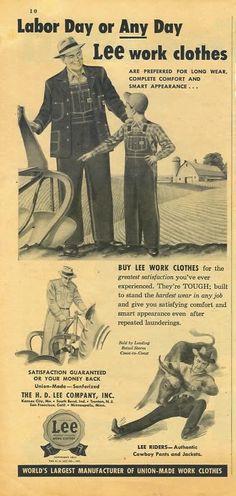 H.D.Lee AD, 1951