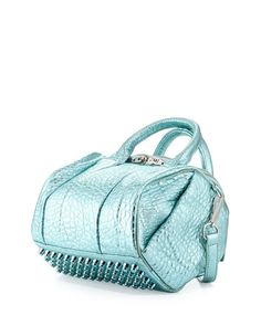 Alexander Wang Rockie Dumbo Crossbody Satchel Bag