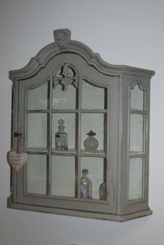 x For Sale x £95 - A Vintage Display Cabinet from BLEU CLAIR