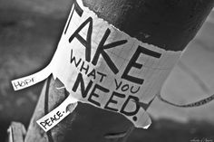 Take what u need..