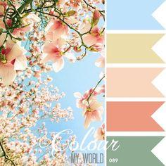The Scrap Farm: COLOUR MY WORLD #color palette #colour palette