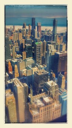 Chicago From Up High