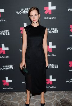 Emma Watson at the UN after party. #HeForShe