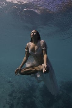 #underwater #yoga #meditation