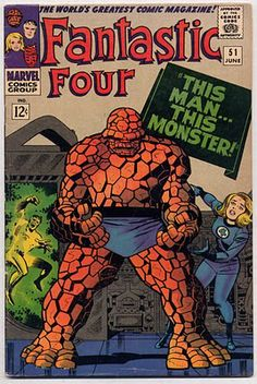 Fantastic Four #51 This Man... This Monster Ben Grimm The Thing