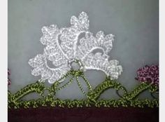 Latest lace models with crochet - Crochet Unique, Crochet Lace Edging, Crochet Borders, Cotton Crochet, Irish Crochet, Crochet Stitches, Weaving Projects, Knitting Projects, Crochet Projects