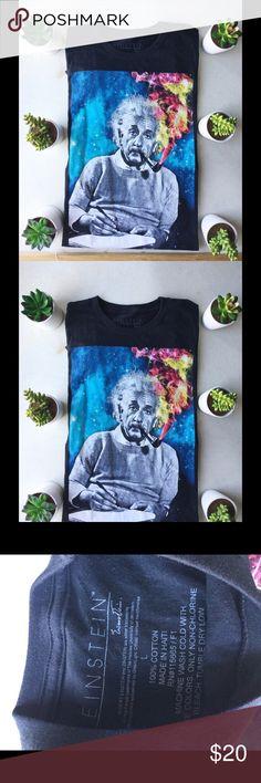 Einstein 100% cotton Einstein  Tshirt eistein Shirts Tees - Short Sleeve