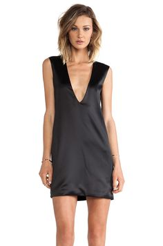 #REVOLVEclothing I love the front & back of this super sexy, slinky & simple black dress!