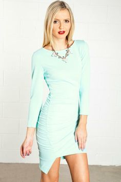 Hey Surage Mint Pastel Party Dress - $60.00