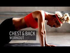 Chest and Back Workout