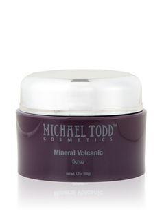Michael Todd True Naturals Jojoba Charcoal Facial Scrub