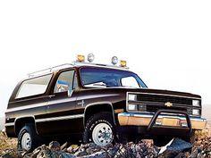 Chevrolet K5 Blazer (1982 – 1984).